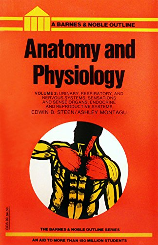 9780064600996: Anatomy and Physiology: v. 2 (College Outline)