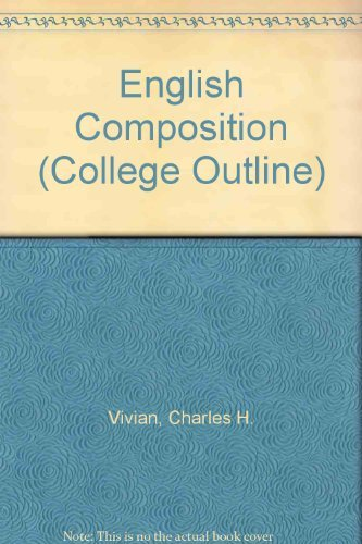9780064601023: English Composition (College Outline)