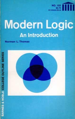 9780064601030: Modern Logic (College Outline)