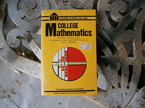 9780064601054: College Mathematics (College Outline)