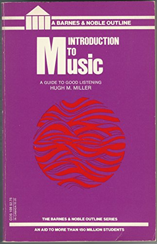 9780064601092: Introduction to Music (College Outline)
