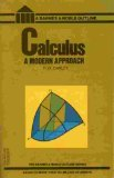 9780064601344: Calculus: A Modern Approach (College Outline)