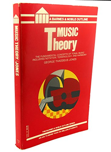 9780064601375: Music theory (Barnes & Noble college outline series)