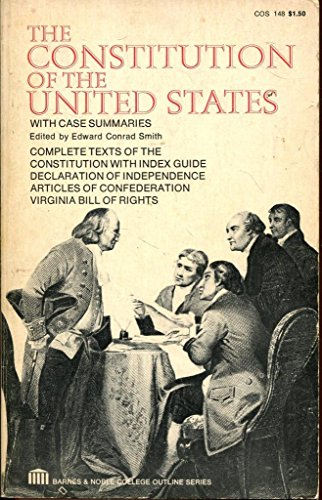 9780064601481: Constitution of the United States (College Outline)