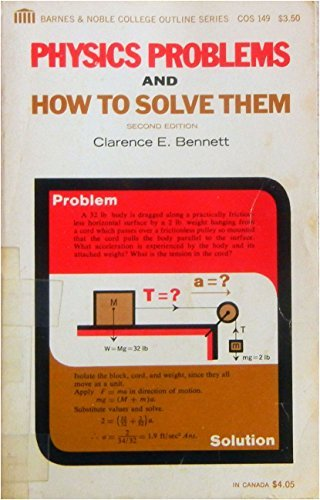 9780064601498: Physics Problems and How to Solve Them
