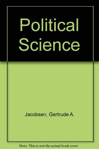 Political Science (College outline series)