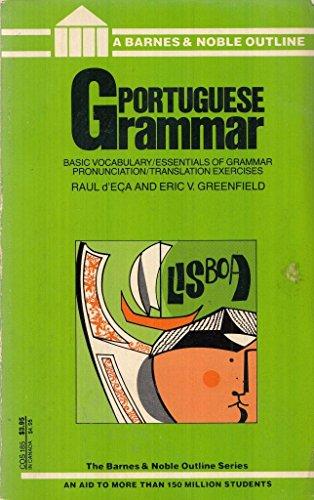 9780064601856: Portuguese Grammar (College Outline)