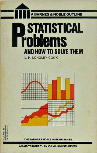 9780064602051: Statistical Problems and How to Solve Them (A Barnes & Noble problems book)