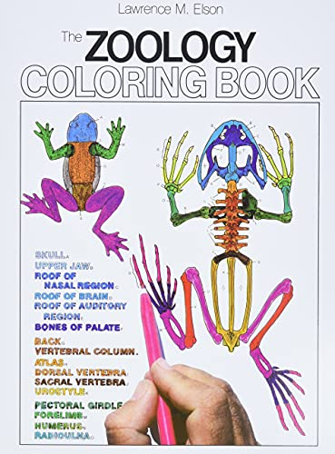 The Zoology Coloring Book (9780064603010) by Lawrence M. Elson