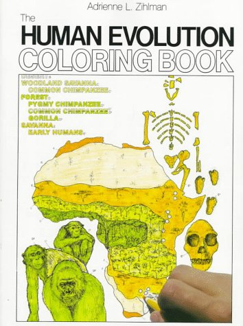 9780064603041: The Human Evolution Coloring Book