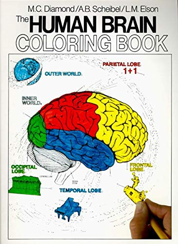 The Human Brain Colouring Book: Diamond, Marion C.;