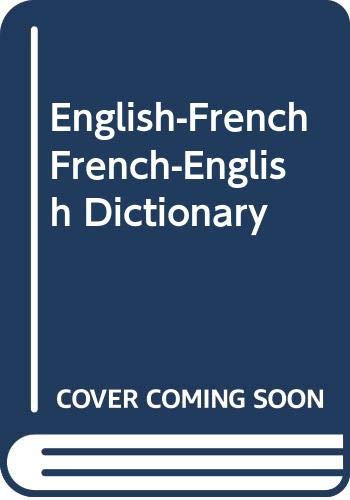 9780064610018: English-French French-English Dictionary