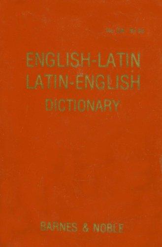9780064610063: English-Latin Latin-English Dictionary