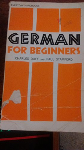 9780064632171: German for Beginners (Everyday Handbooks, No. 217)