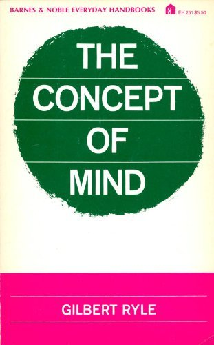 9780064632515: Concept of Mind [Paperback] by Ryle, Gilbert