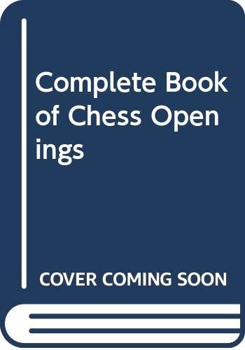 Complete Book of Chess Openings (0064632741) by Reinfeld, Fred