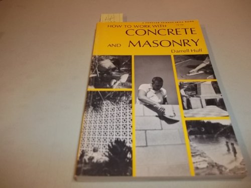 9780064633543: How to Work with Concrete and Masonry