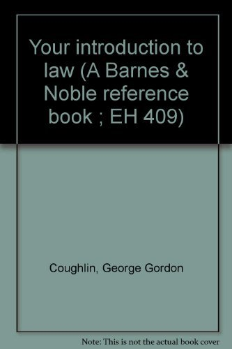 9780064634090: Your introduction to law (A Barnes & Noble reference book ; EH 409)