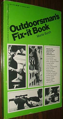 9780064634106: Outdoorsman's fix-it book