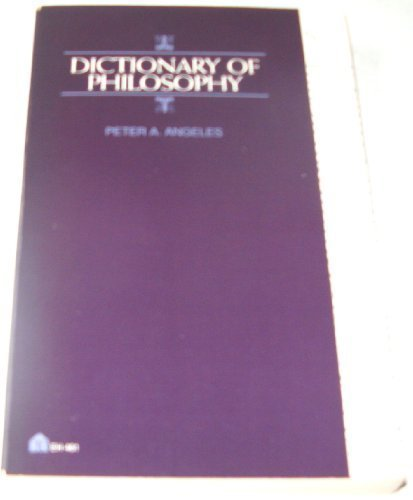 9780064634618: Dictionary of Philosophy