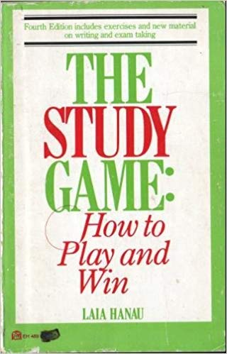 9780064634892: The study game, how to play and win
