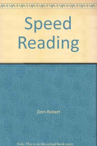 9780064635028: Speed Reading
