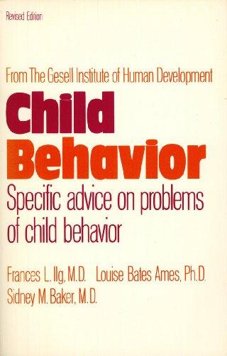 9780064635479: Child Behavior: Specific Advice on Problems of Child Behavior