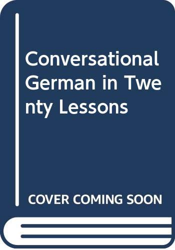 9780064636025: Conversational German