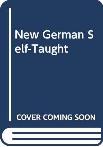 9780064636155: New German Self-Taught