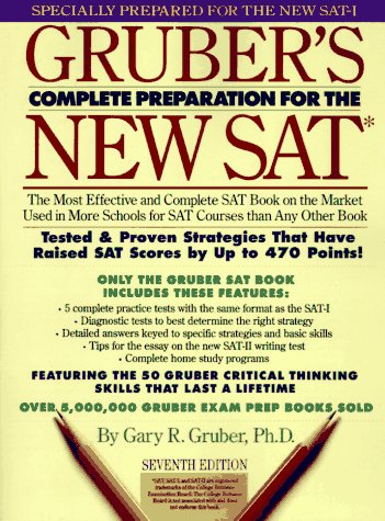 9780064636193: Gruber's Complete Preparation for the New Sat: Featuring Critical Thinking Skills (7th ed)