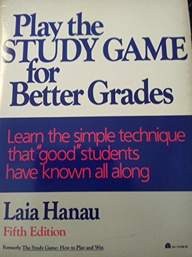 9780064637152: Play the Study Game for Better Grades