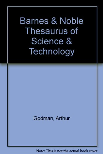 9780064637190: Barnes & Noble Thesaurus of Science & Technology