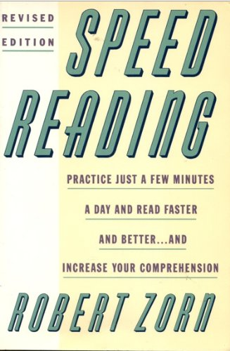 9780064637343: Speed Reading