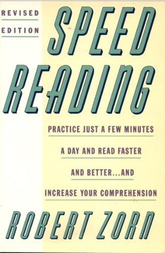 9780064637343: Speed Reading