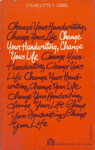 9780064640015: Change Your Handwriting, Change Your Life