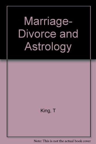 9780064640862: Marriage, divorce & astrology