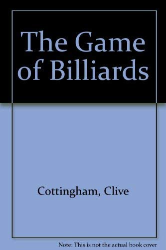 9780064640879: The Game of Billiards