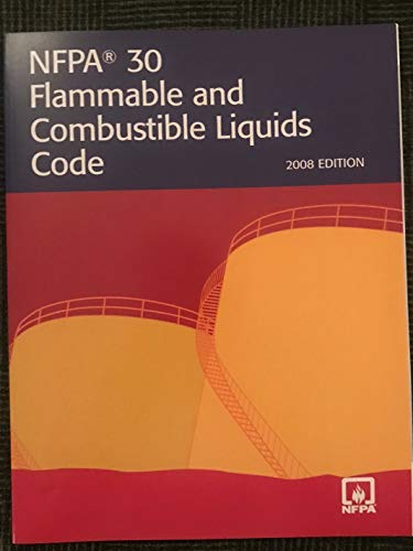 NFPA 30: Flammable and Combustible Liquids Code, 2008 (0064641171) by NFPA