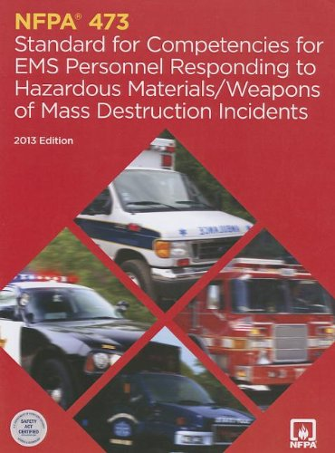 9780064641456: Nfpa 473: Standard for Competencies for EMS Personnel Responding to Hazardous Materials/Wwd Incidents