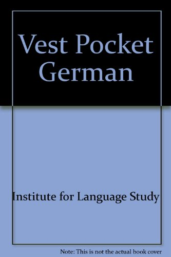 9780064649025: Vest Pocket German