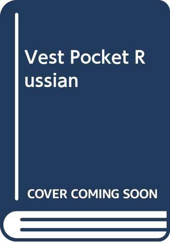 9780064649056: Vest Pocket Russian