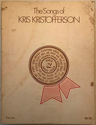 The Songs of Kris Kristofferson; 54 Great: Kristofferson, Kris.