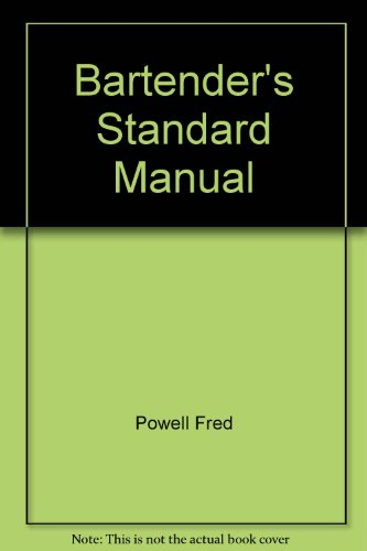 9780064650298: Bartender's Standard Manual