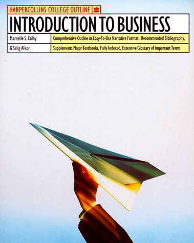 9780064671040: Introduction to Busines (Harpercollins College Outline Series)