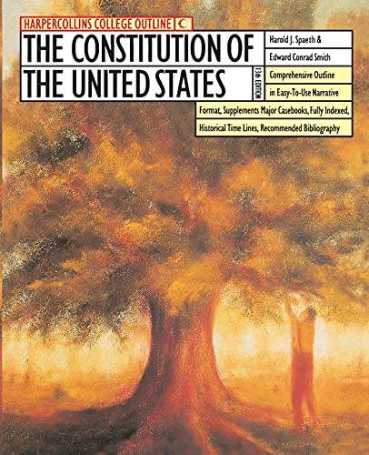 9780064671057: The HarperCollins College Outline Constitution of the United States (Harpercollins College Outline Series)