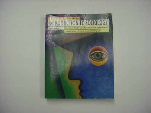9780064671064: Introduction to Sociology (Outline)