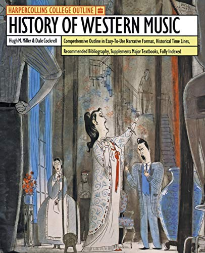 9780064671071: The History of Western Music (Outline)