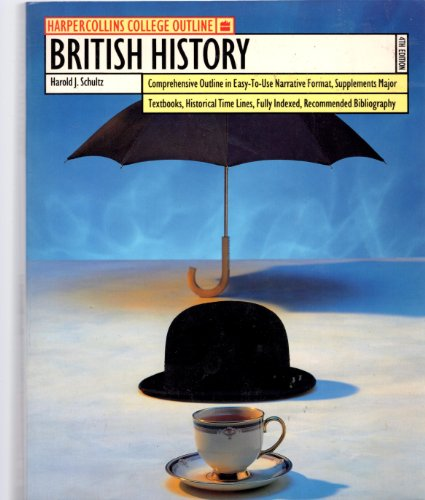9780064671101: British History (Harpercollins College Outline Series)