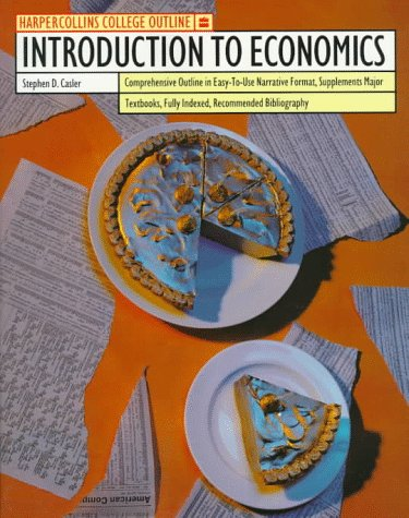 9780064671132: HarperCollins College Outline Introduction to Economics