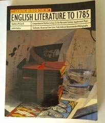 9780064671149: English Literature to 1785 (Harpercollins College Outline Series)